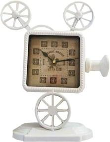 Relógio De Mesa Retroprojetor Vintage