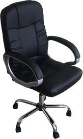 Cadeira Presidente Master Preta - Bulk
