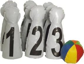 Jogo Brink Sul Boliche de Números Multicolorido