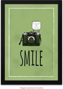 Poster Smile - Verde (60x90cm, Apenas Impressão)