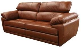 Sofá de Couro Pienza Retrátil e Reclinável - 2,30cm