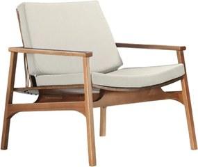 Poltrona Ravi em madeira Eucalipto Design by Adriano Santos