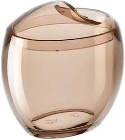 Porta Algodão/Cotonetes Spoom 10,8x10,6x8,5cm Rosa Blush - 20861/0467 - Coza - Coza
