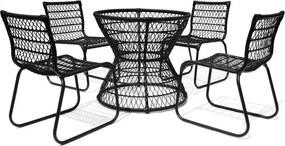 Conjunto Base de Mesa e 4 Cadeiras Huelva - Área Externa