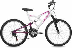 Bicicleta Mormaii Full Big Rider Aro 24 Branco