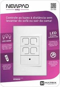 Interruptor Inteligente Branco 4X2 Newpad Easy