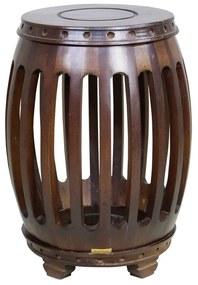 Garden Seat Madeira Hull - Wood Prime 46021