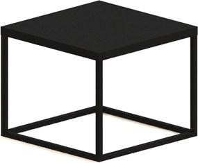 Mesa Cube P Preto Artesano Móveis