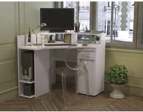 Conjunto de Escritório com Escrivaninha Tomas e Cadeira Invisible