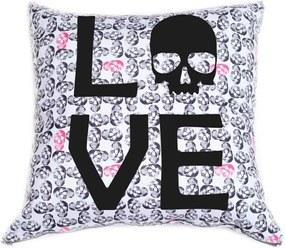 Capa de Almofada Stooge Love III Branca