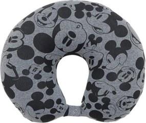 Almofada Fom De Pescoço 2 Em 1 Clássico Mickey Estampada
