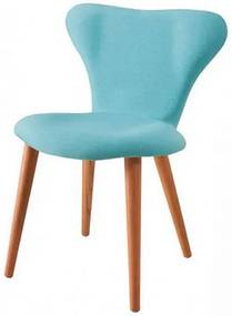 Cadeira Jacobsen Series 7 Azul com Pes Palito Tauari - 49607 Sun House
