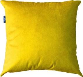 Capa Almofada Suede Amarelo ouro 43x43cm - LISO