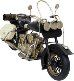 Enfeite Retrô Minas de Presentes Motocicleta Preto