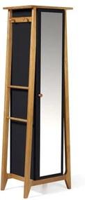 Armario Multiuso Stoka Cor Amendoa Com Preto - 31586 Sun House