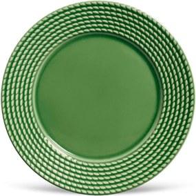Conjunto 6pçs Pratos Rasos Porto Brasil Olímpia Verde