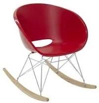 Cadeira Tramontina Elena Vermelha em Polipropileno com Base Balanço Tramontina 92084040