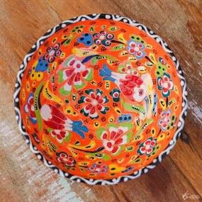 Tigela Turca Floral em Cerâmica