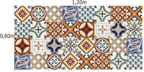 Adesivo Azulejos Turcos (20x20cm)