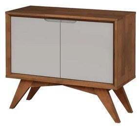Buffet Uriel 2 Portas Pinhão e Fendi - Wood Prime MP 27571