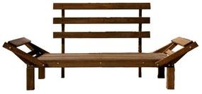 Sofá Futon Country Confort (almofadas não acompanham o produto) - Wood Prime MR 218608