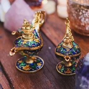 Lâmpada do Aladdin Grande - Azul
