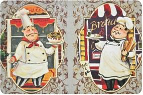 Tapete de Cozinha Antiderrapante 02 - Chef 40cm X 60cm