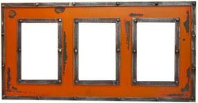 Porta Retrato Kasa Ideia Laranja 46x24cm