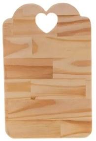 Tábua de Madeira Pinus Coração