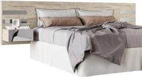 Cabeceira Casal Extensível Aura Cama Box Queen/King Aspen - HB Móveis