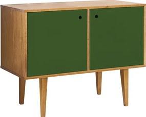 Buffet com 2 Portas Vintage Verde Musgo