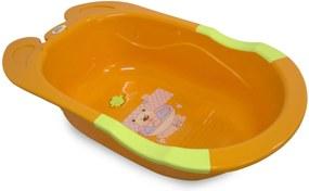 Banheira Para Bebê Baby Style Frog Laranja