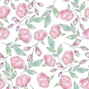 Papel De Parede Adesivo Floral N2023
