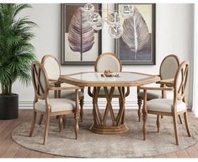 Conjunto de Jantar Hemma com Cadeiras Elisabeth Seiva -