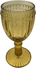 Taças para Água Relevos Âmbar 350 ml