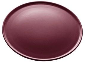 Jogo Pratos Sobremesa Cerâmica Vadim Vinho 6 Peças 21cm 17684 Wolff