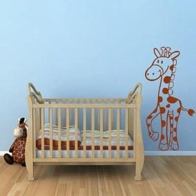 Adesivo de Parede Girafinha