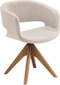 Cadeira Coburn em Estofado C/Base Giratória