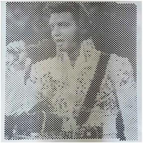 Quadro Madeira Perfurado Elvis Presley Show
