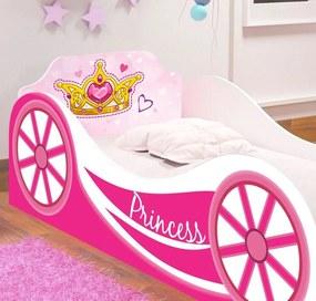 Mini Cama Carruagem Princess Infantil - RPM Móveis