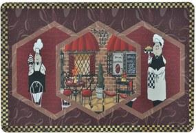 Tapete de Cozinha Antiderrapante 13 - Chef 40cm X 60cm