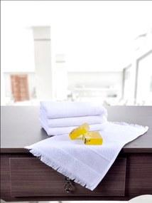 Toalha Social Branca kit com 24un