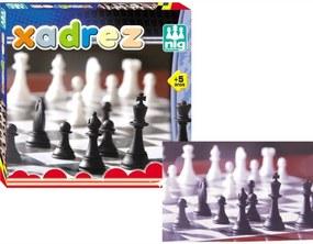 Jogo Nig Brinquedos de Xadrez Multicolorido