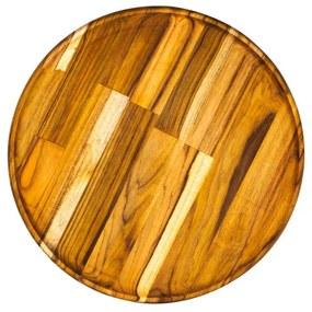 Prato Sobremesa Madeira Teca 20x2cm 13161 Woodart