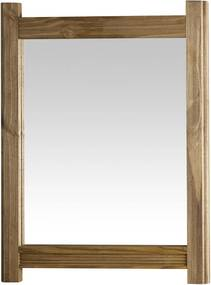 Moldura com Espelho Win Carvalha Serpil Marrom