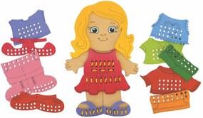 Jogo Alinhavo NewArt Toys Menina Multicolorido