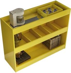 Aparador Bar 4030 Luxo Amarelo Móveis JB Bechara