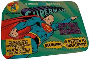 Tapete DC Comics Superman Flying Azul em Poliéster - Urban - 70x40 cm