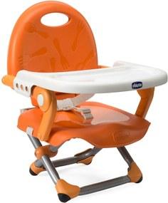 Cadeira de AlimentaçÁo - Pocket Snack - Mandarino - Chicco