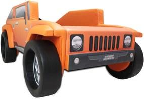 Cama Cama Carro Infantil Hummer Laranja